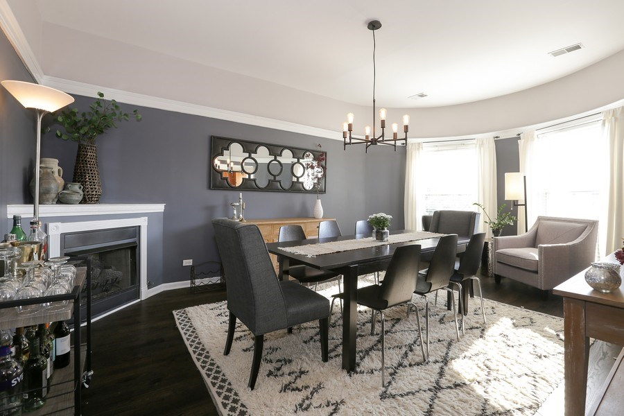 Real Estate Photography - 4055 N Sheridan Rd, #5, Chicago, IL, 60613 - Dining Room