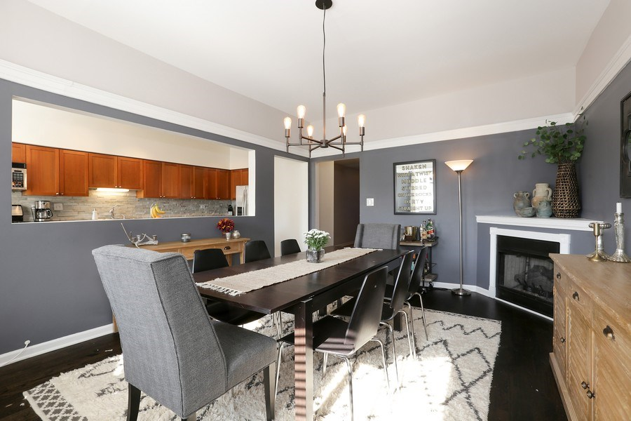 Real Estate Photography - 4055 N Sheridan Rd, #5, Chicago, IL, 60613 - Dining Area