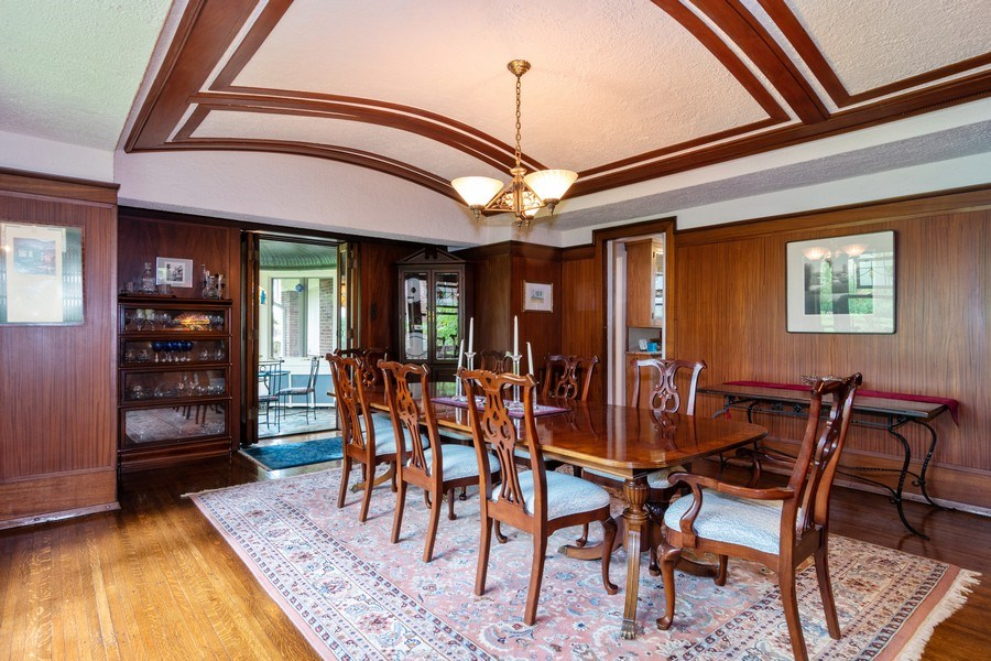 Real Estate Photography - 415 Linden Ave, Oak Park, IL, 60302 - Dining Room
