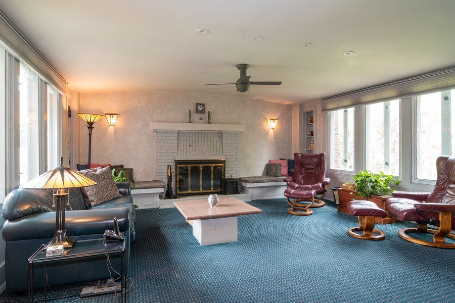 Real Estate Photography - 415 Linden Ave, Oak Park, IL, 60302 - Family Room