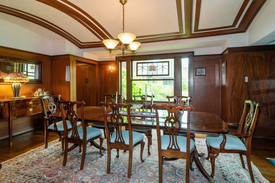 Real Estate Photography - 415 Linden Ave, Oak Park, IL, 60302 - Dining Room