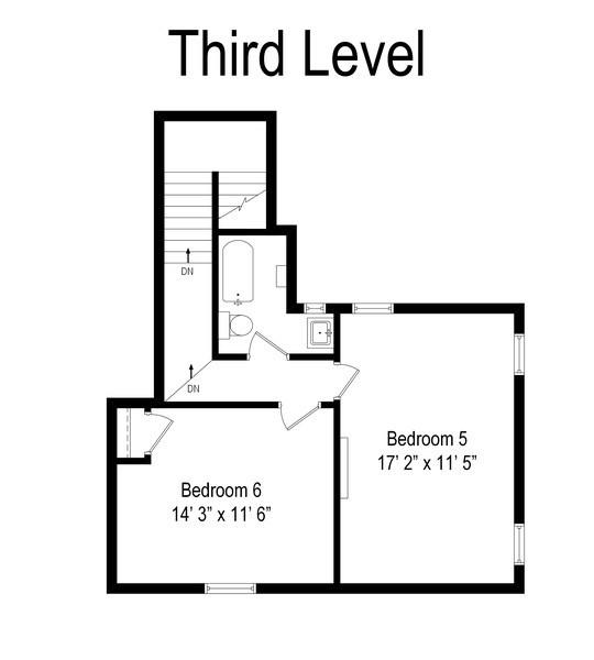Real Estate Photography - 415 Linden Ave, Oak Park, IL, 60302 - Floor Plan