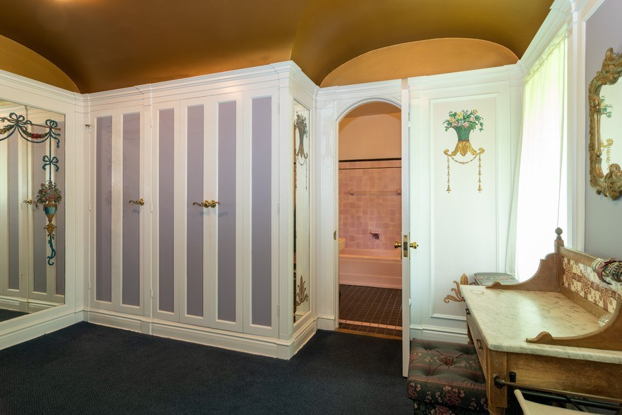 Real Estate Photography - 415 Linden Ave, Oak Park, IL, 60302 - Master Bedroom Dressing Room