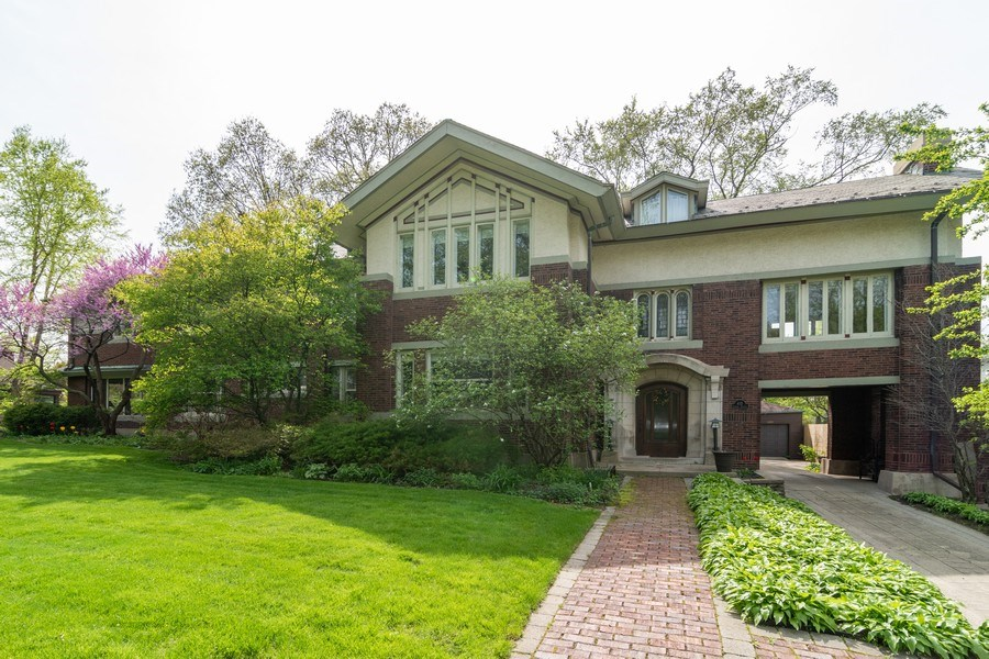 Real Estate Photography - 415 Linden Ave, Oak Park, IL, 60302 - Front View