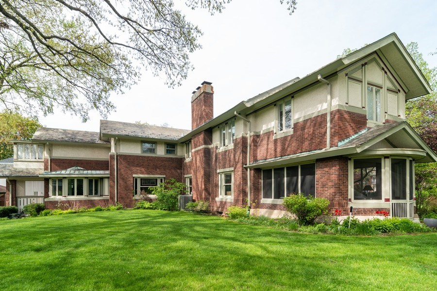 Real Estate Photography - 415 Linden Ave, Oak Park, IL, 60302 - Rear View