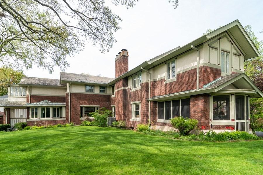 Real Estate Photography - 415 Linden Ave, Oak Park, IL, 60302 - Rear View