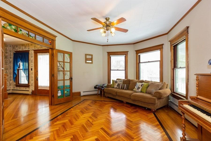 Real Estate Photography - 307 Monroe St, Gardner, IL, 60424 - Living Room