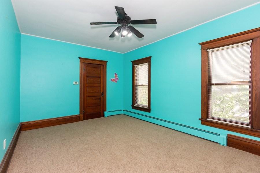 Real Estate Photography - 307 Monroe St, Gardner, IL, 60424 - 2nd Bedroom