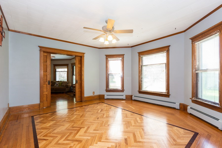 Real Estate Photography - 307 Monroe St, Gardner, IL, 60424 - Dining Room