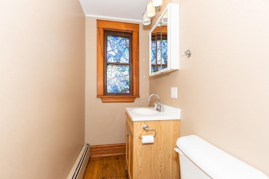 Real Estate Photography - 307 Monroe St, Gardner, IL, 60424 - Bathroom