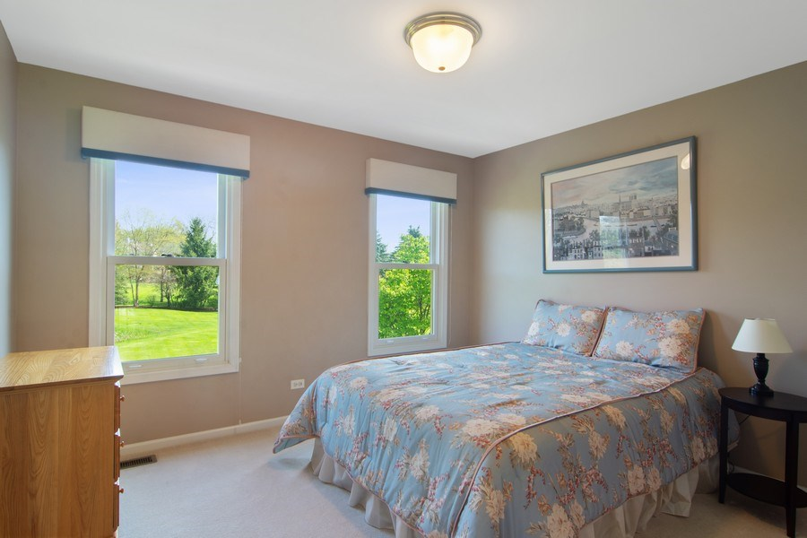 Real Estate Photography - 193 Boxwood, Hawthorn Woods, IL, 60047 - 3rd Bedroom