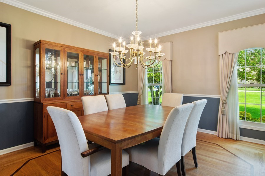 Real Estate Photography - 193 Boxwood, Hawthorn Woods, IL, 60047 - Dining Room
