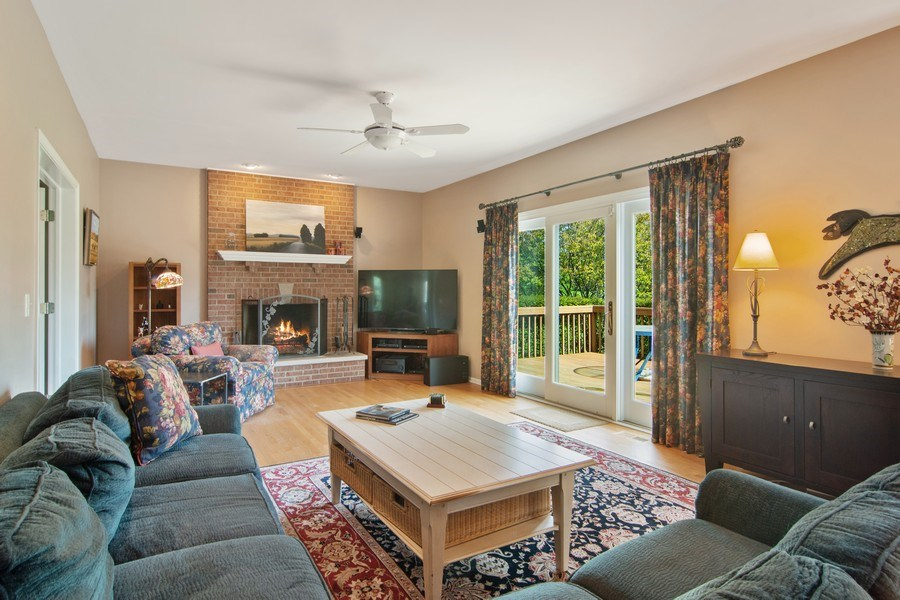 Real Estate Photography - 193 Boxwood, Hawthorn Woods, IL, 60047 - Family Room