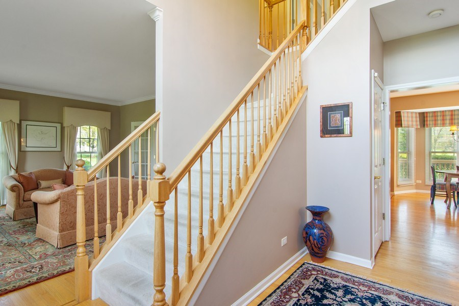 Real Estate Photography - 193 Boxwood, Hawthorn Woods, IL, 60047 - Foyer