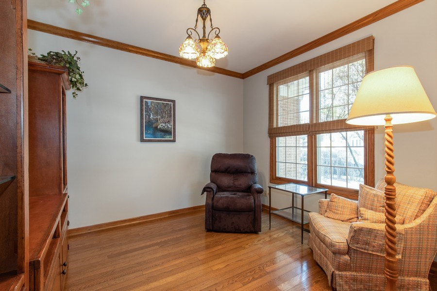 Real Estate Photography - 100 Radcliffe Ct, Glenview, IL, 60026 - Den/Office