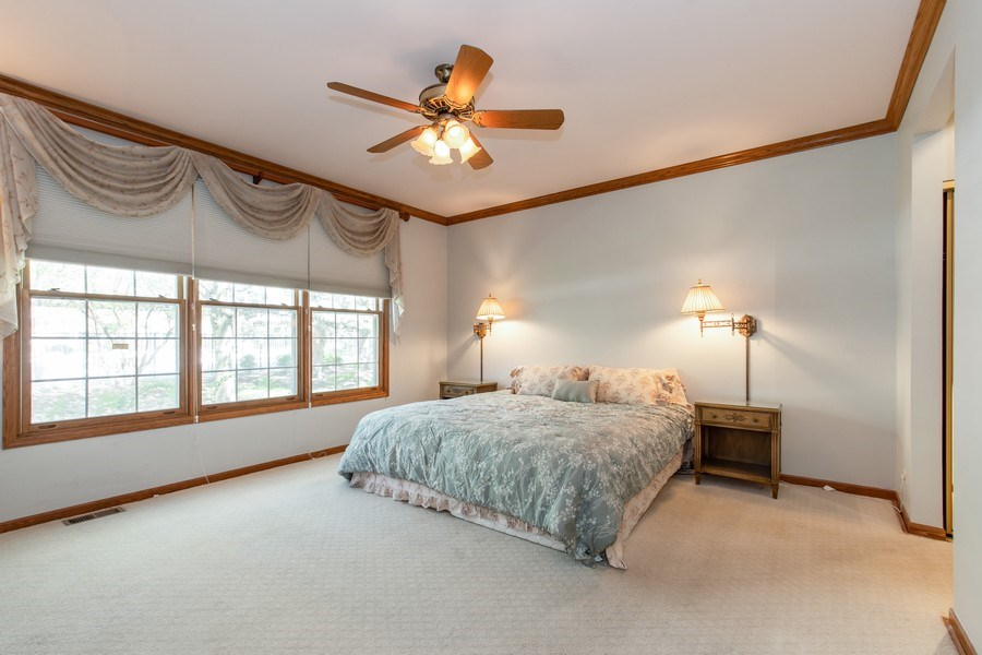Real Estate Photography - 100 Radcliffe Ct, Glenview, IL, 60026 - Master Bedroom