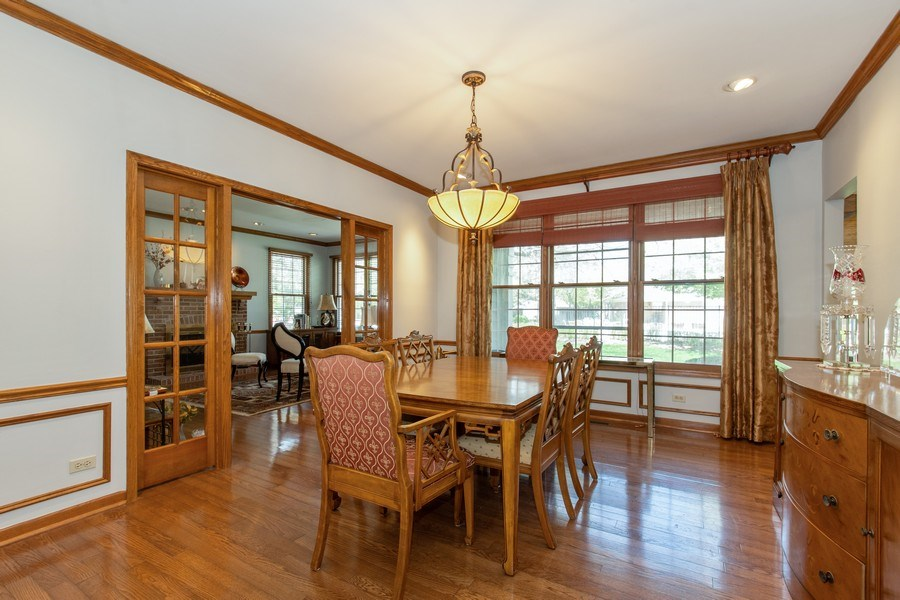 Real Estate Photography - 100 Radcliffe Ct, Glenview, IL, 60026 - Dining Room