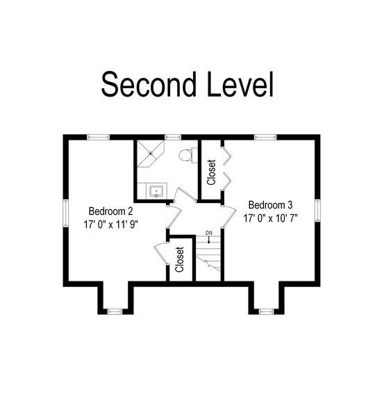 Real Estate Photography - 2624 Willa Drive, St. Joseph, MI, 49085 - Floor Plan