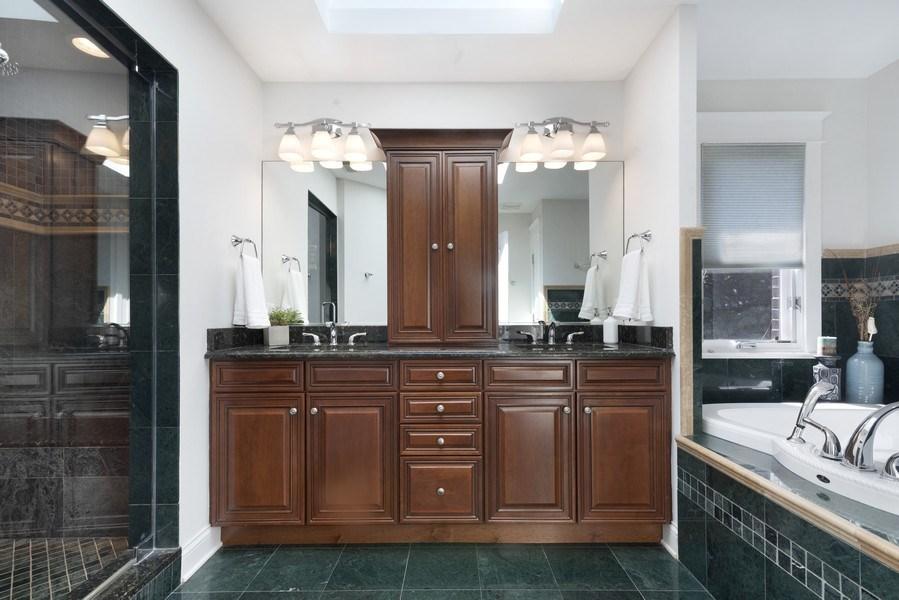 Real Estate Photography - 1739 Altgeld Avenue, Chicago, IL, 60614 - Master Bathroom