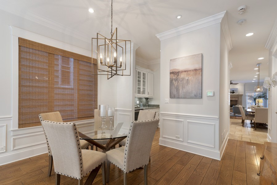 Real Estate Photography - 1739 Altgeld Avenue, Chicago, IL, 60614 - Dining Room