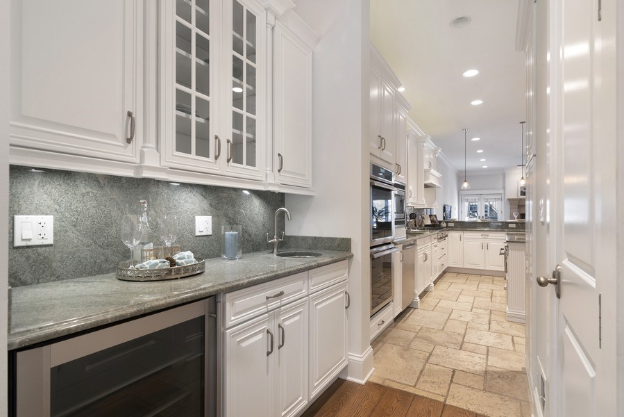 Real Estate Photography - 1739 Altgeld Avenue, Chicago, IL, 60614 - Butler's Pantry