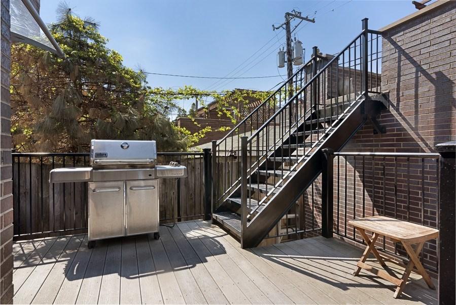 Real Estate Photography - 1739 Altgeld Avenue, Chicago, IL, 60614 - Deck
