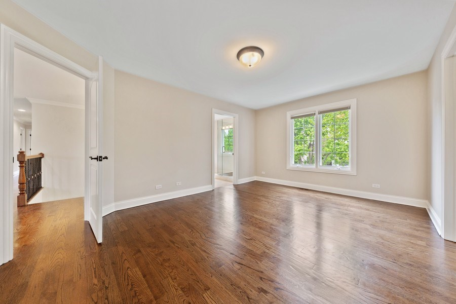 Real Estate Photography - 663 S Mitchell, Elmhurst, IL, 60126 - Bedroom