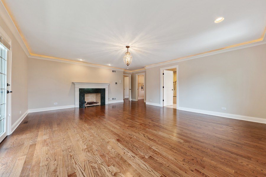 Real Estate Photography - 663 S Mitchell, Elmhurst, IL, 60126 - Master Bedroom
