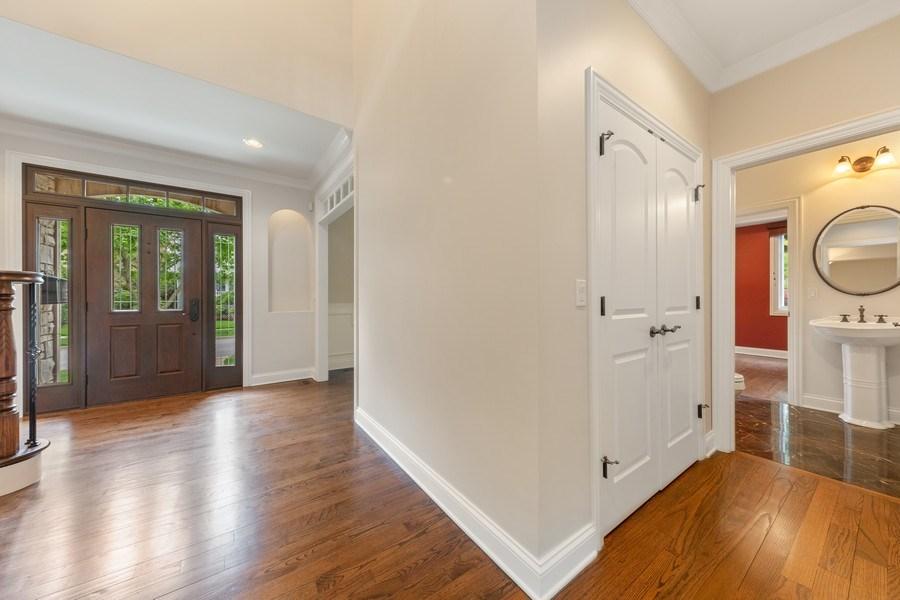 Real Estate Photography - 663 S Mitchell, Elmhurst, IL, 60126 - Powder Room