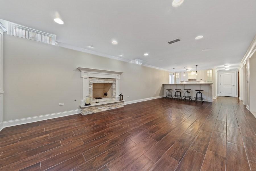 Real Estate Photography - 663 S Mitchell, Elmhurst, IL, 60126 - Rec Room/Wet Bar