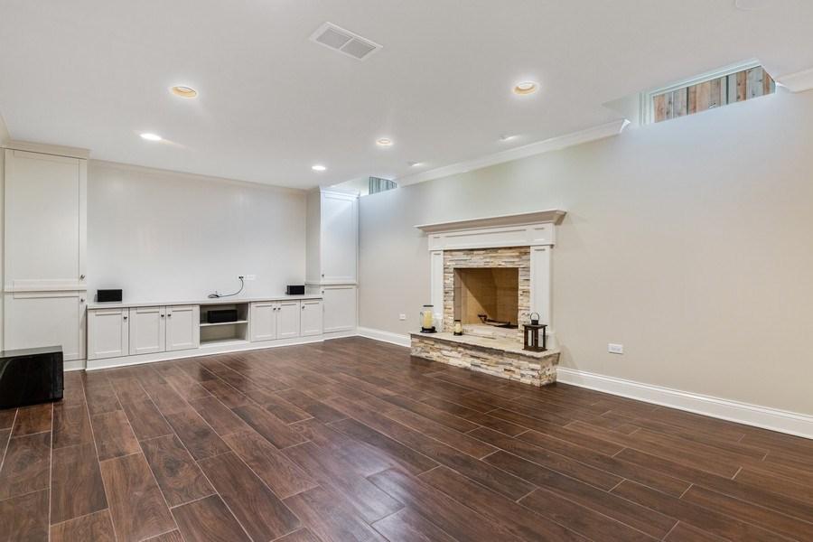 Real Estate Photography - 663 S Mitchell, Elmhurst, IL, 60126 - Rec Room