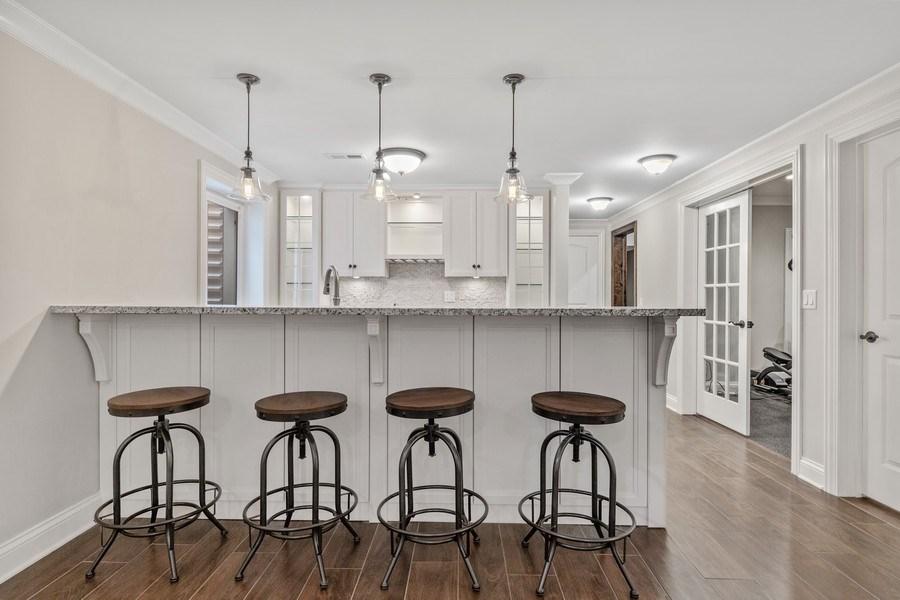 Real Estate Photography - 663 S Mitchell, Elmhurst, IL, 60126 - Wet Bar/2nd Kitchen