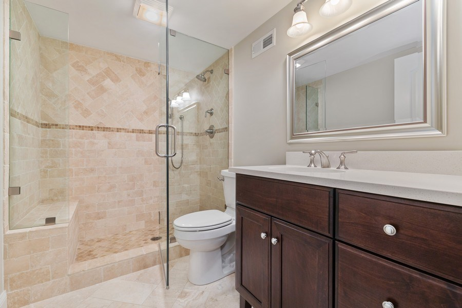 Real Estate Photography - 663 S Mitchell, Elmhurst, IL, 60126 - Basement Bath