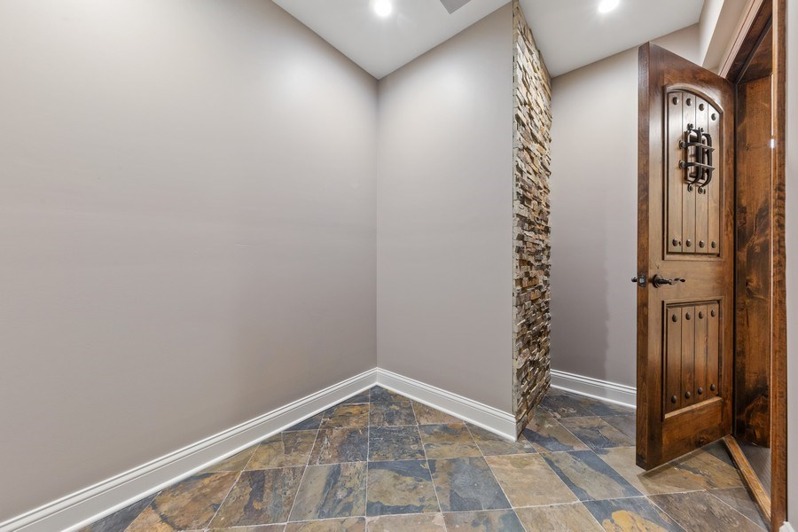 Real Estate Photography - 663 S Mitchell, Elmhurst, IL, 60126 - Future Wine Cellar