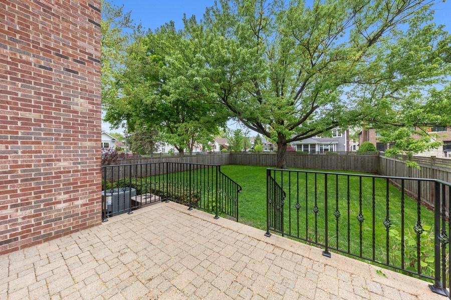 Real Estate Photography - 663 S Mitchell, Elmhurst, IL, 60126 - Patio