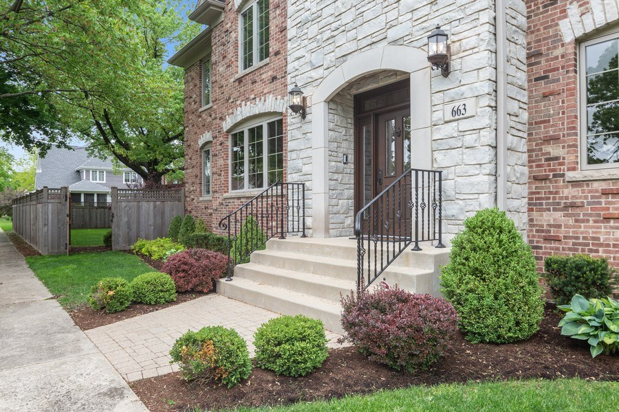 Real Estate Photography - 663 S Mitchell, Elmhurst, IL, 60126 - Front View