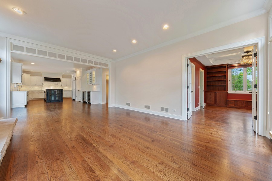 Real Estate Photography - 663 S Mitchell, Elmhurst, IL, 60126 - Family Room