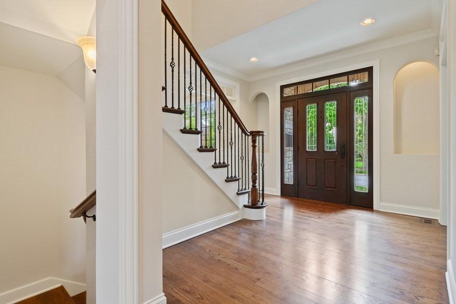 Real Estate Photography - 663 S Mitchell, Elmhurst, IL, 60126 - Foyer