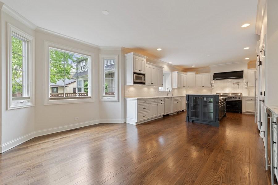 Real Estate Photography - 663 S Mitchell, Elmhurst, IL, 60126 - Breakfast Area