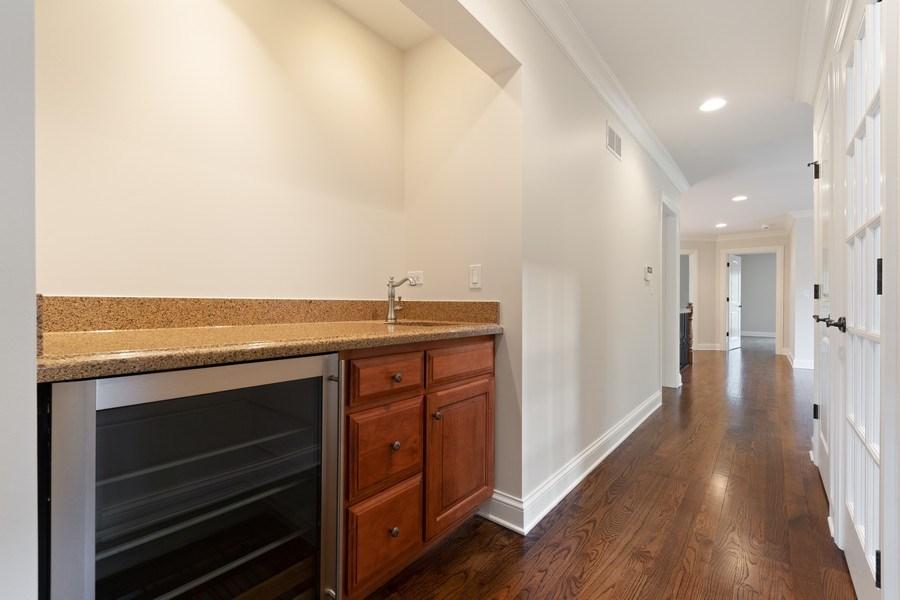 Real Estate Photography - 663 S Mitchell, Elmhurst, IL, 60126 - 2nd Floor Wet Bar