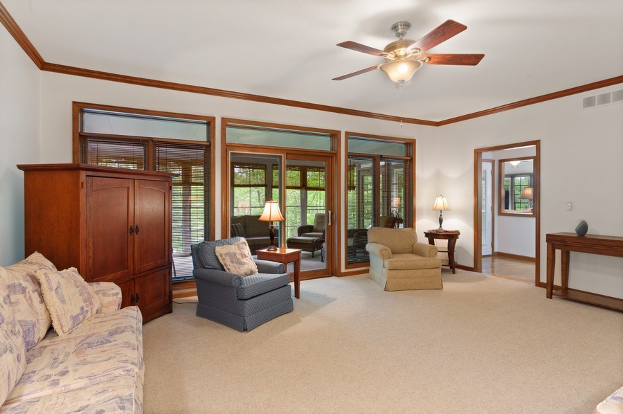 Real Estate Photography - 1501 Orchard, Niles, MI, 49120 - Living Room