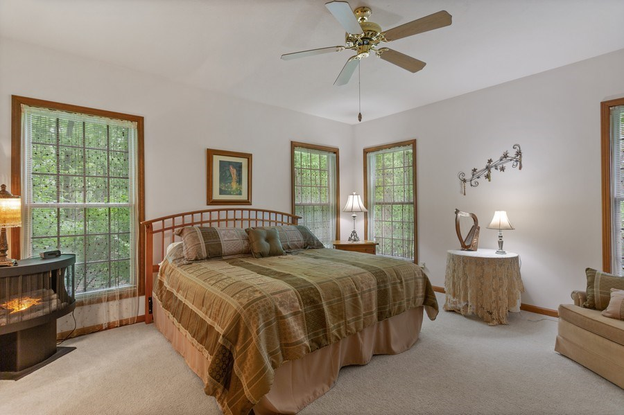Real Estate Photography - 1501 Orchard, Niles, MI, 49120 - Master Bedroom