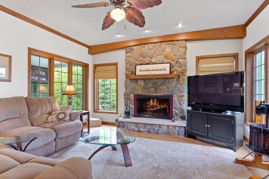 Real Estate Photography - 1501 Orchard, Niles, MI, 49120 - Family Room