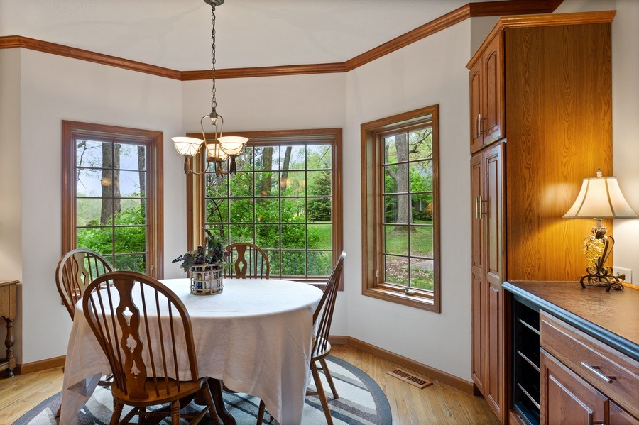 Real Estate Photography - 1501 Orchard, Niles, MI, 49120 - Dining Area