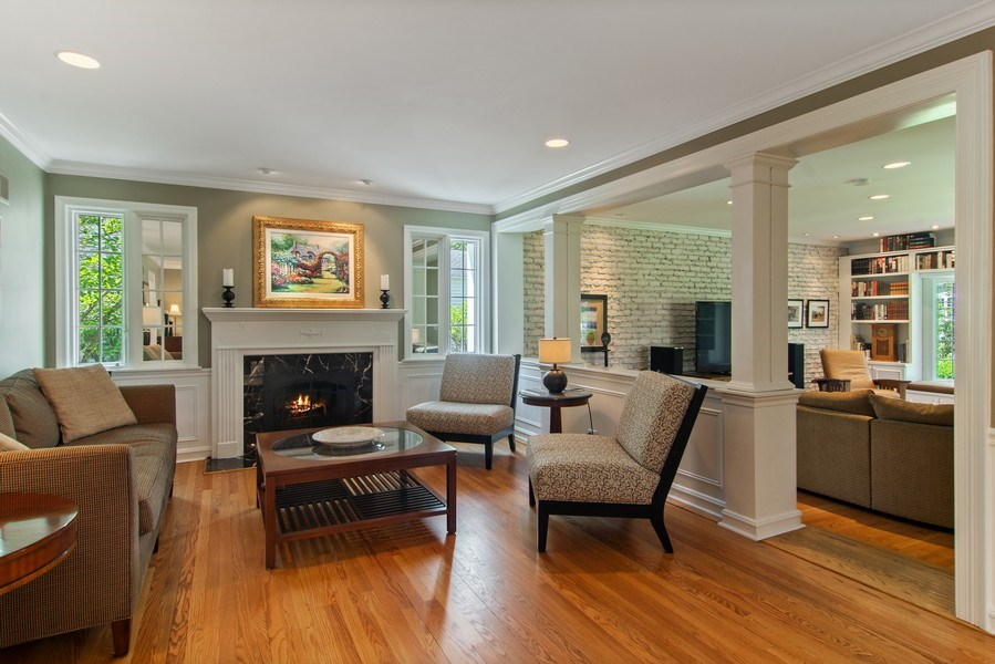 Real Estate Photography - 344 S Bristol, Arlington Heights, IL, 60005 - Living Room