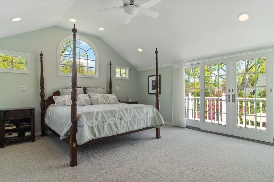 Real Estate Photography - 344 S Bristol, Arlington Heights, IL, 60005 - Master Bedroom
