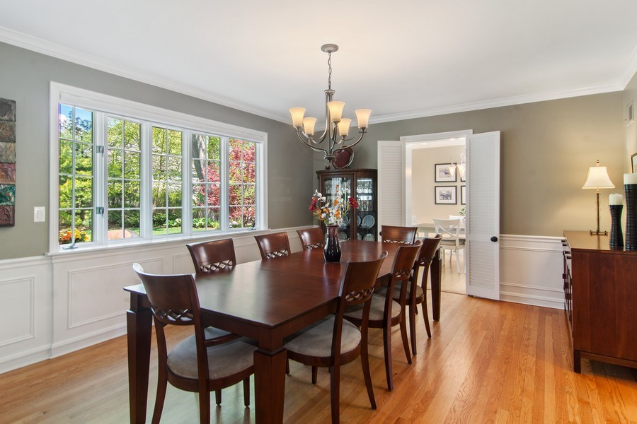 Real Estate Photography - 344 S Bristol, Arlington Heights, IL, 60005 - Dining Room