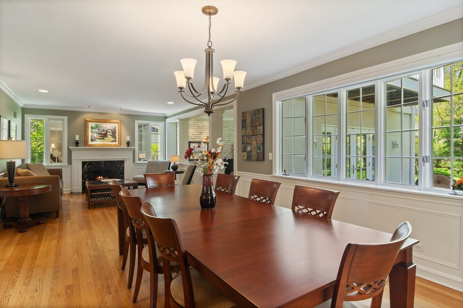 Real Estate Photography - 344 S Bristol, Arlington Heights, IL, 60005 - Dining Area