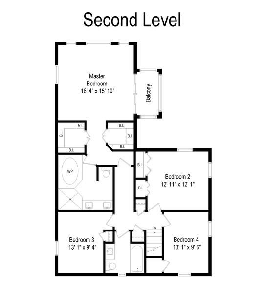 Real Estate Photography - 344 S Bristol, Arlington Heights, IL, 60005 - Floor Plan