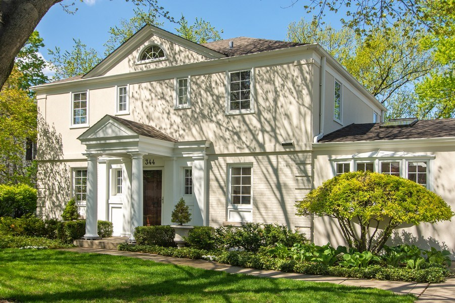 Real Estate Photography - 344 S Bristol, Arlington Heights, IL, 60005 - Front View